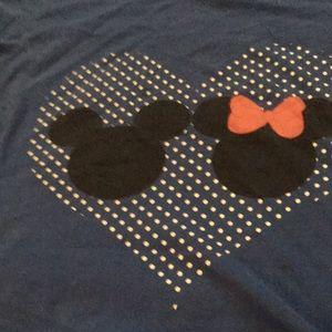 Tops - cute Mickey and Minnie love